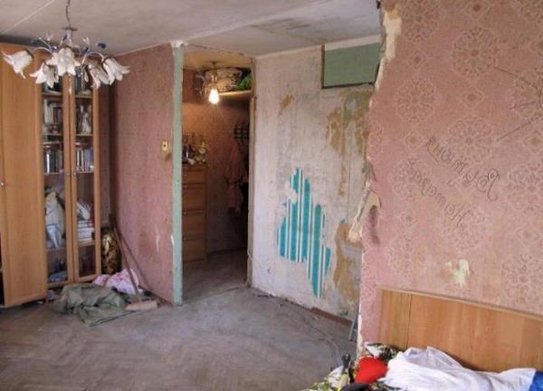 Перепланировка двух комнатной хрущевки