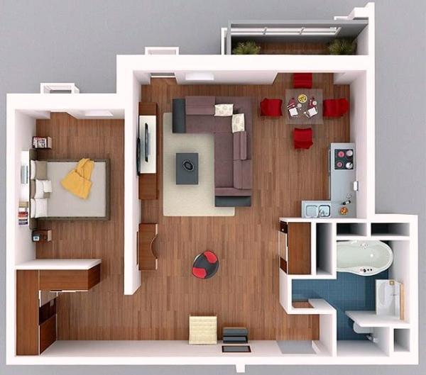 Перепланировка комната