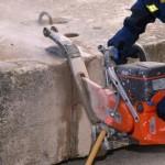 Разрезать бетонные блоки самостоятельно