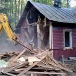 Основные этапы демонтажа дачного дома