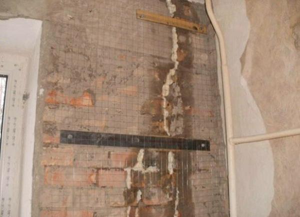 Ремонт кирпичных стен