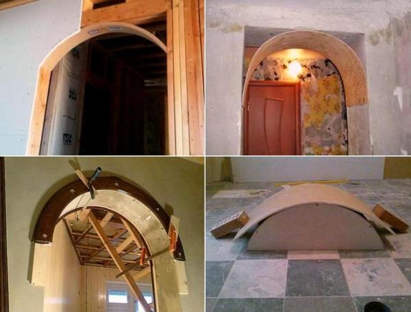 Установка арка