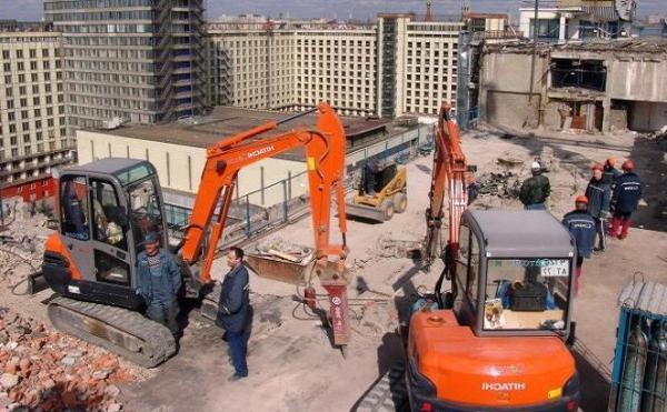 Технология демонтаж зданий