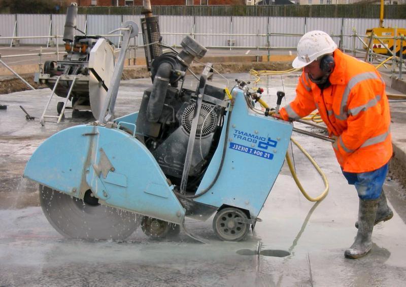 Фото алмазная резка бетона