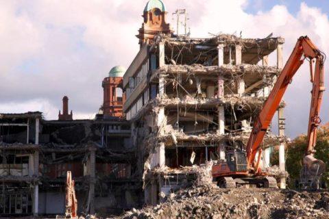 Фото снос здания