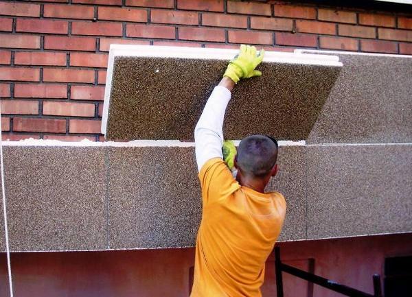 Применение строительного пенополистирола