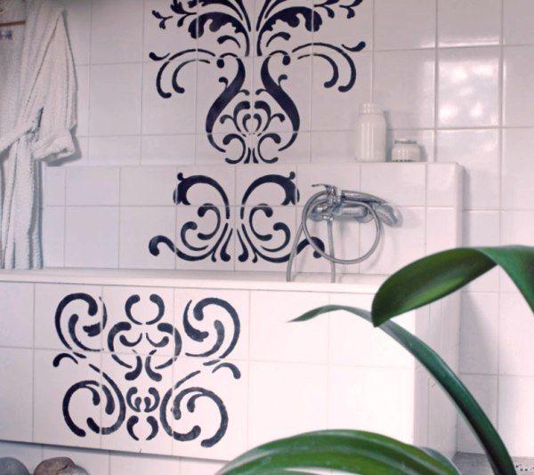 Роспись керамической плитки