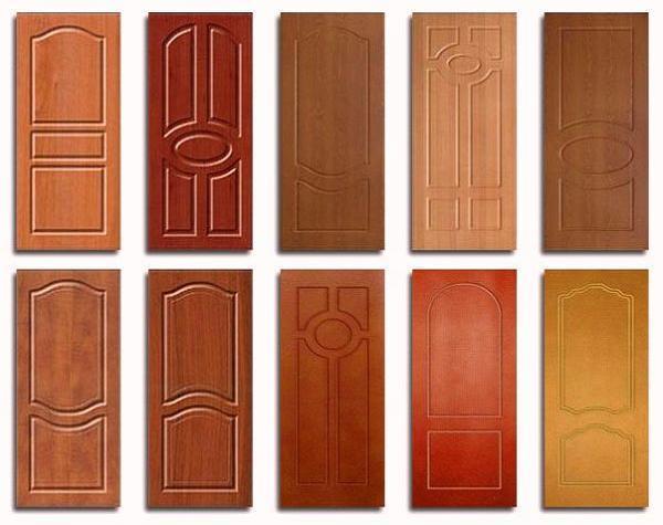 Варианты дверной отделки