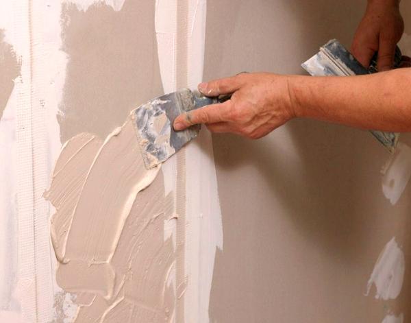 Как подготовить гипсокартон под покраску