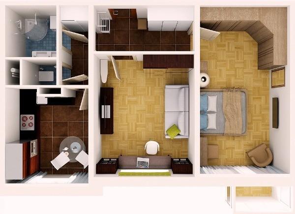Перепланировки в квартире