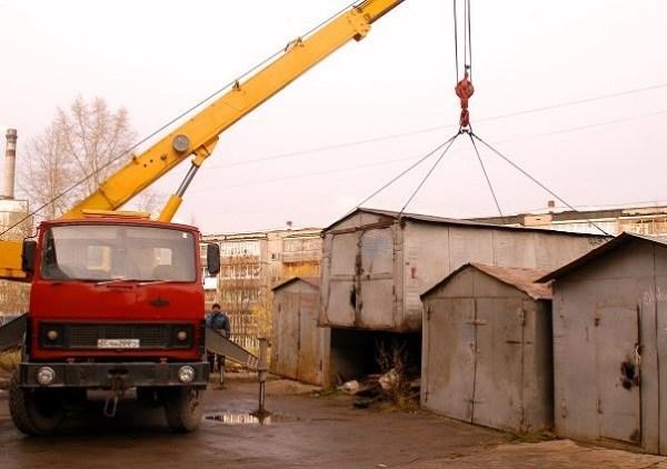 Услуги снос гаражей в Москве