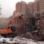 Компания по сносу здания – услуги демонтажной техники для большого объема