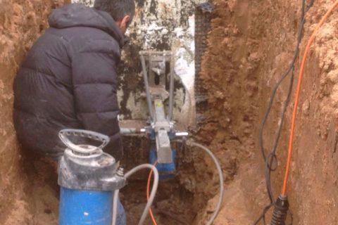 Сверление отверстие в бетоне