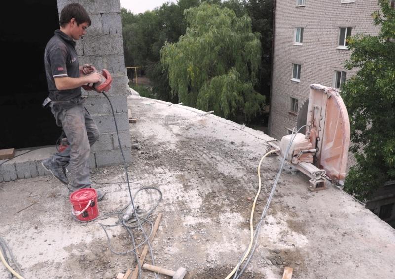Алмазная резка в Москве