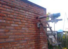 Бурение кирпичных стен