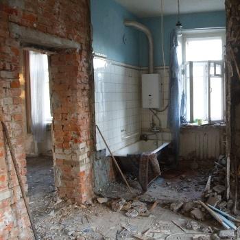 Демонтаж стен и перегородок в Москве