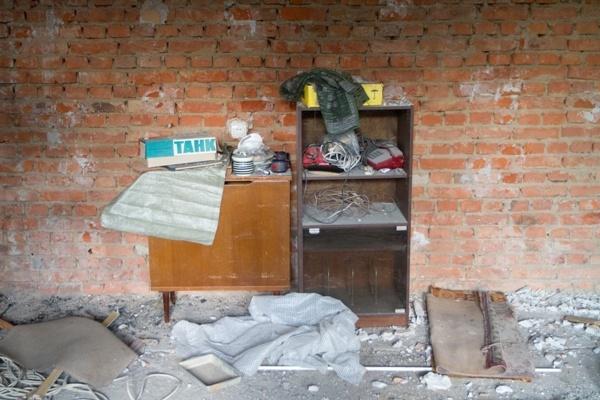 Демонтаж стен хрущевках