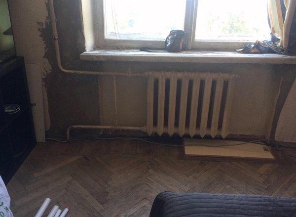 Снос радиаторов отопления