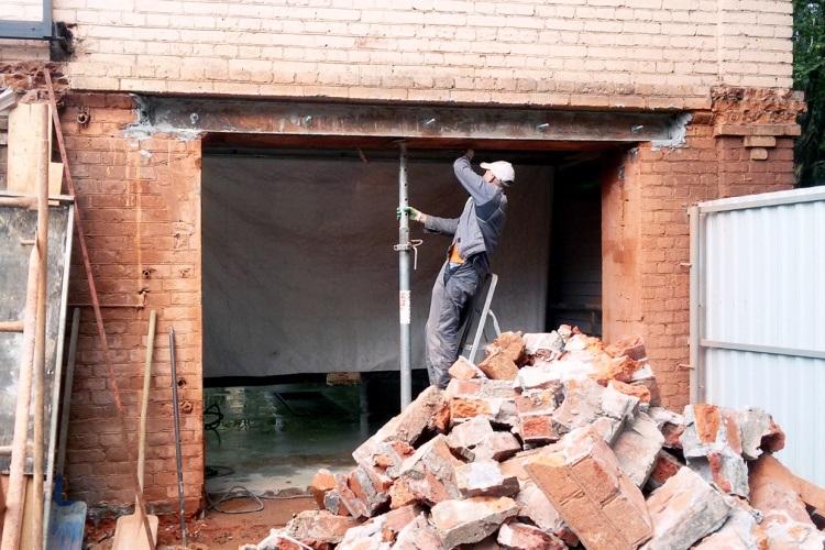 Проем в несущий стене