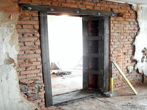 Усиление дверного проема