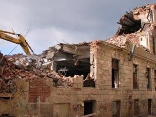 Снос старых зданий