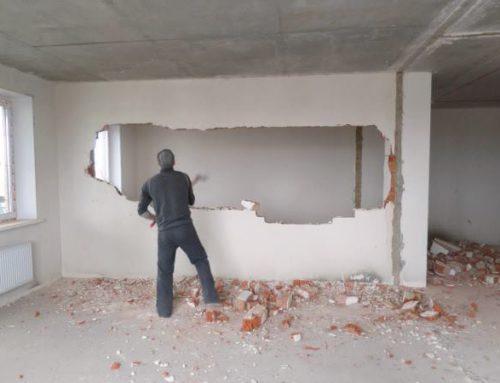 Сколько стоит демонтаж стен и перегородок