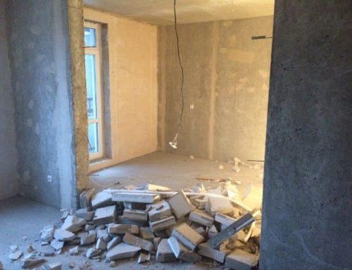 Стоимость демонтажа стен