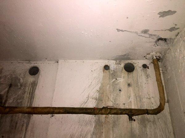 Сверление отверстии в стене