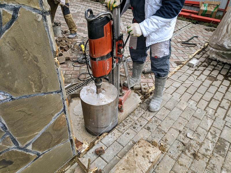 Сверление в бетоне